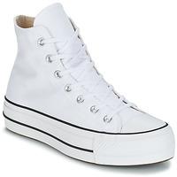 Cipők Női Magas szárú edzőcipők Converse CHUCK TAYLOR ALL STAR LIFT CANVAS HI Fehér