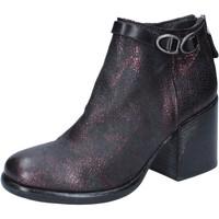 Cipők Női Bokacsizmák Moma BY909 Ibolya
