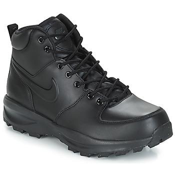 Cipők Férfi Csizmák Nike MANOA LEATHER BOOT Fekete