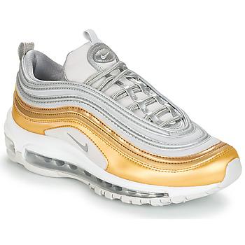 Cipők Női Rövid szárú edzőcipők Nike AIR MAX 97 SPECIAL EDITION W Szürke / Arany