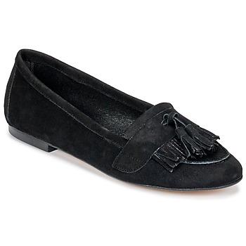 Cipők Női Mokkaszínek Betty London JAPUTO Fekete