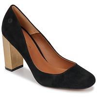 Cipők Női Félcipők Betty London JIFOLU Fekete  / Arany