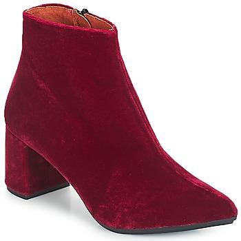 Cipők Női Bokacsizmák Betty London JILOUTE Bordó