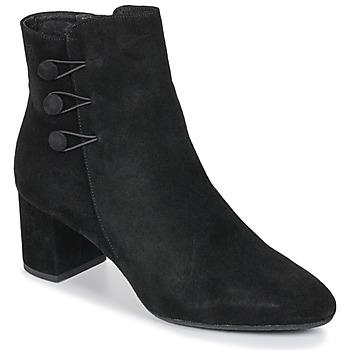 Cipők Női Bokacsizmák Betty London JOYE Fekete