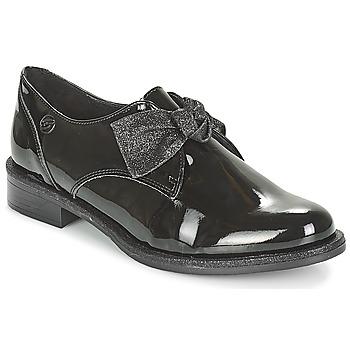 Cipők Női Oxford cipők Betty London JOHEIN Fekete