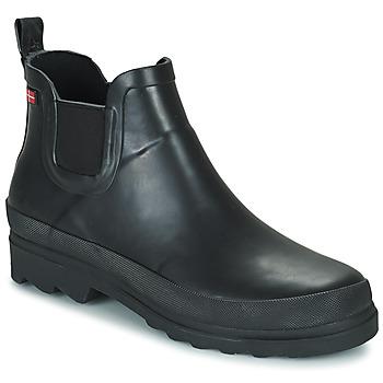 Cipők Női Gumicsizmák Sanita FELICIA Fekete