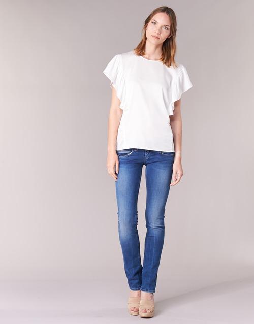 Ruhák Női Egyenes szárú farmerek Pepe jeans VENUS Kék / Átlagos