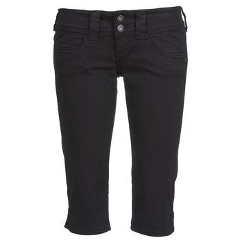 Ruhák Női 7/8-os és 3/4-es nadrágok Pepe jeans VENUS CROP Fekete