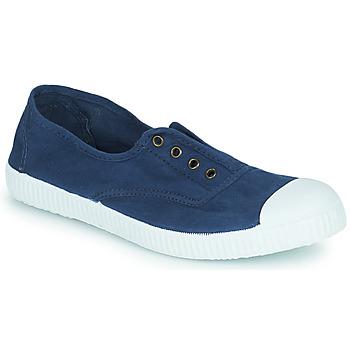 Cipők Női Rövid szárú edzőcipők Victoria 6623 Tengerész