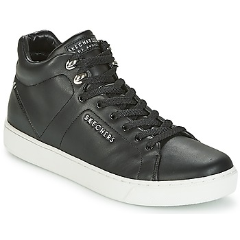 Cipők Női Magas szárú edzőcipők Skechers PRIMA Fekete