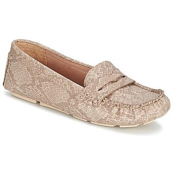 Cipők Női Mokkaszínek Esprit NOIR LOAFER Bézs