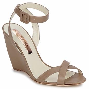 Cipők Női Szandálok / Saruk Rupert Sanderson ALIGHT Barna