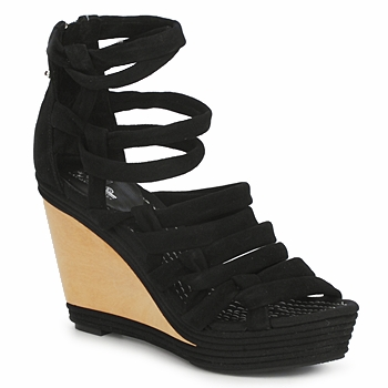Cipők Női Szandálok / Saruk Belle by Sigerson Morrison APACHE HI Fekete