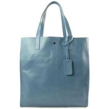 Táskák Női Kézitáskák Vera Pelle GL46B2 Kék