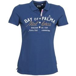 material Női Rövid ujjú galléros pólók Gaastra MISTY Kék