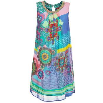 material Női Rövid ruhák Derhy BARDE Kék / Zöld / Sokszínű