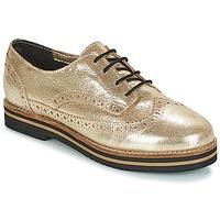 Cipők Női Oxford cipők Coolway AVO Arany / Fekete