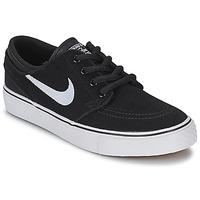 Cipők Fiú Rövid szárú edzőcipők Nike STEFAN JANOSKI ENFANT Fekete
