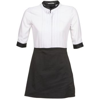 Ruhák Női Rövid ruhák La City COLUMBA Fekete  / Fehér
