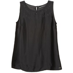 Ruhák Női Trikók / Ujjatlan pólók La City LUCRETIA Fekete
