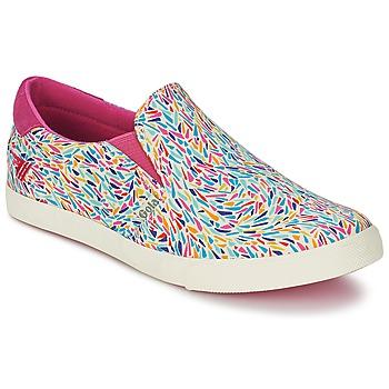 Cipők Női Belebújós cipők Gola DELTA LIBERTY KT Fehér / Rózsaszín / Kék