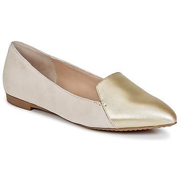 Cipők Női Mokkaszínek French Connection GALINA Arany / Rózsaszín