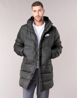 Ruhák Férfi Steppelt kabátok Nike BRENLA Fekete