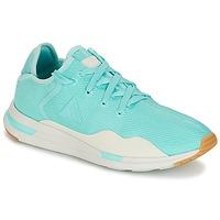 Cipők Női Rövid szárú edzőcipők Le Coq Sportif SOLAS W SUMMER FLAVOR Kék