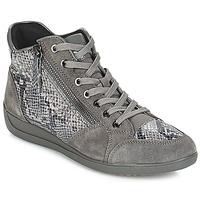 Cipők Női Rövid szárú edzőcipők Geox D MYRIA Szürke / Sötét