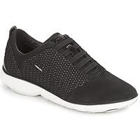Cipők Női Rövid szárú edzőcipők Geox D NEBULA Fekete