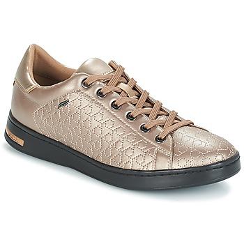 Cipők Női Rövid szárú edzőcipők Geox D JAYSEN Bézs