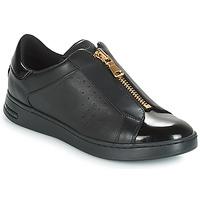 Cipők Női Rövid szárú edzőcipők Geox D JAYSEN Fekete