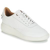 Cipők Női Rövid szárú edzőcipők Geox D RUBIDIA Fehér