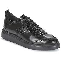 Cipők Női Oxford cipők Geox D THYMAR Fekete