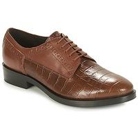 Cipők Női Oxford cipők Geox DONNA BROGUE Barna