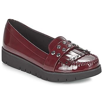 Cipők Női Mokkaszínek Geox D BLENDA Bordó