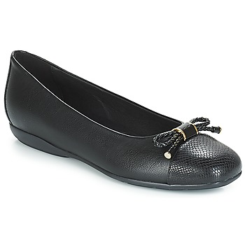 Cipők Női Balerina cipők / babák Geox D ANNYTAH Fekete