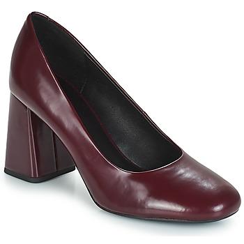Cipők Női Félcipők Geox D SEYLISE HIGH Bordó
