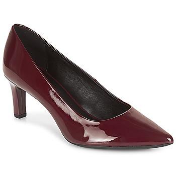 Cipők Női Félcipők Geox D BIBBIANA Bordó