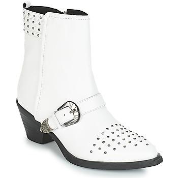 Cipők Női Bokacsizmák Geox D LOVAI Fehér