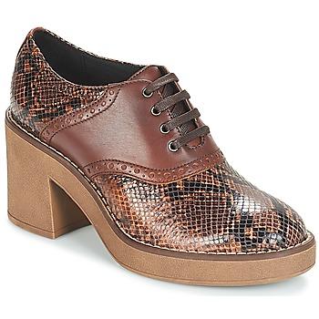 Cipők Női Bokacsizmák Geox D ADRYA MID Barna