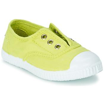 Shoes Lány Rövid szárú edzőcipők Chipie JOSEPE Citromsárga