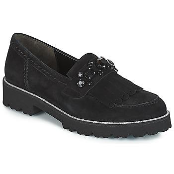 Cipők Női Mokkaszínek Gabor TINGER Fekete