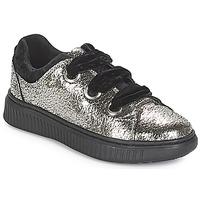 Cipők Lány Rövid szárú edzőcipők Geox J DISCOMIX GIRL Ezüst