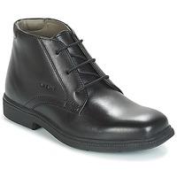 Cipők Fiú Csizmák Geox JR FEDERICO Fekete