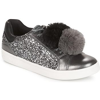 Cipők Lány Rövid szárú edzőcipők Geox J DJROCK GIRL Szürke