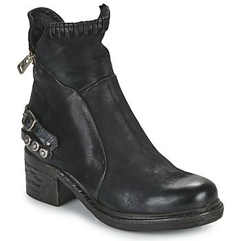 Cipők Női Csizmák Airstep / A.S.98 NOVA 17 Fekete