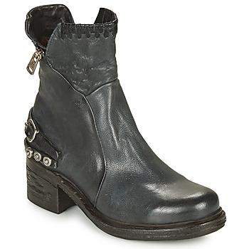 Cipők Női Csizmák Airstep / A.S.98 NOVA 17 Kék / Et / Fekete