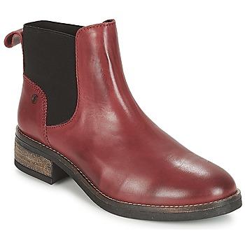 Cipők Női Csizmák Casual Attitude JELIA Piros