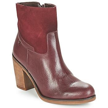 Cipők Női Bokacsizmák Casual Attitude WASRAH Bordó